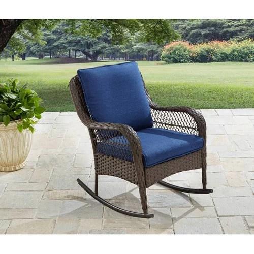 better homes gardens colebrook outdoor rocking chair