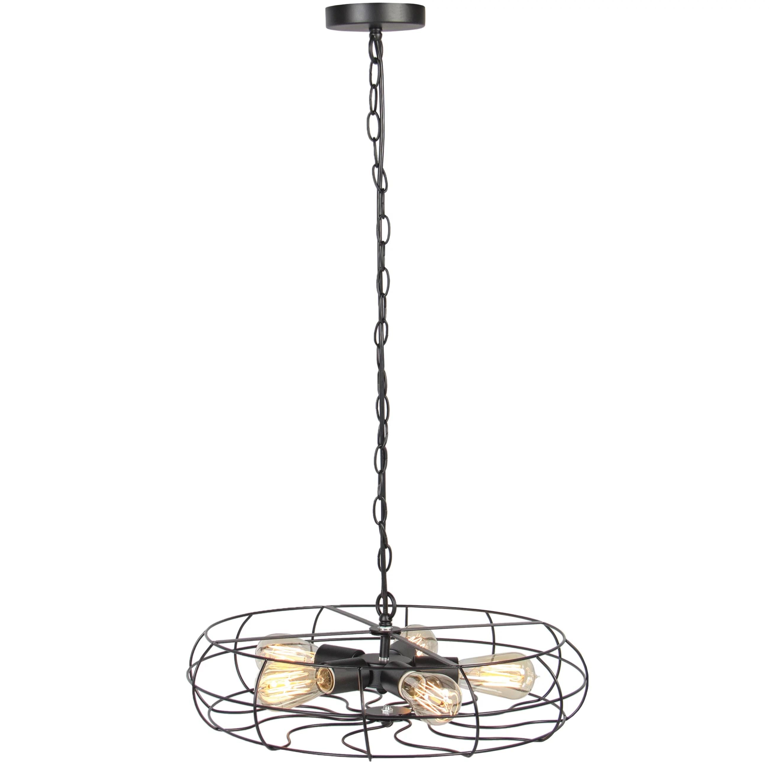 Industrial Vintage 5 Chandelier Ceiling Lighting Lights