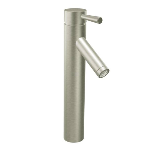 moen 6111bn level vessel bathroom sink faucet brushed nickel