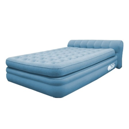 Aerobed Elevated Mini Headboard Inflatable Air Bed Mattress Twin Full Queen