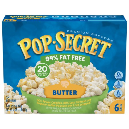 Image result for pop secret 94 fat free