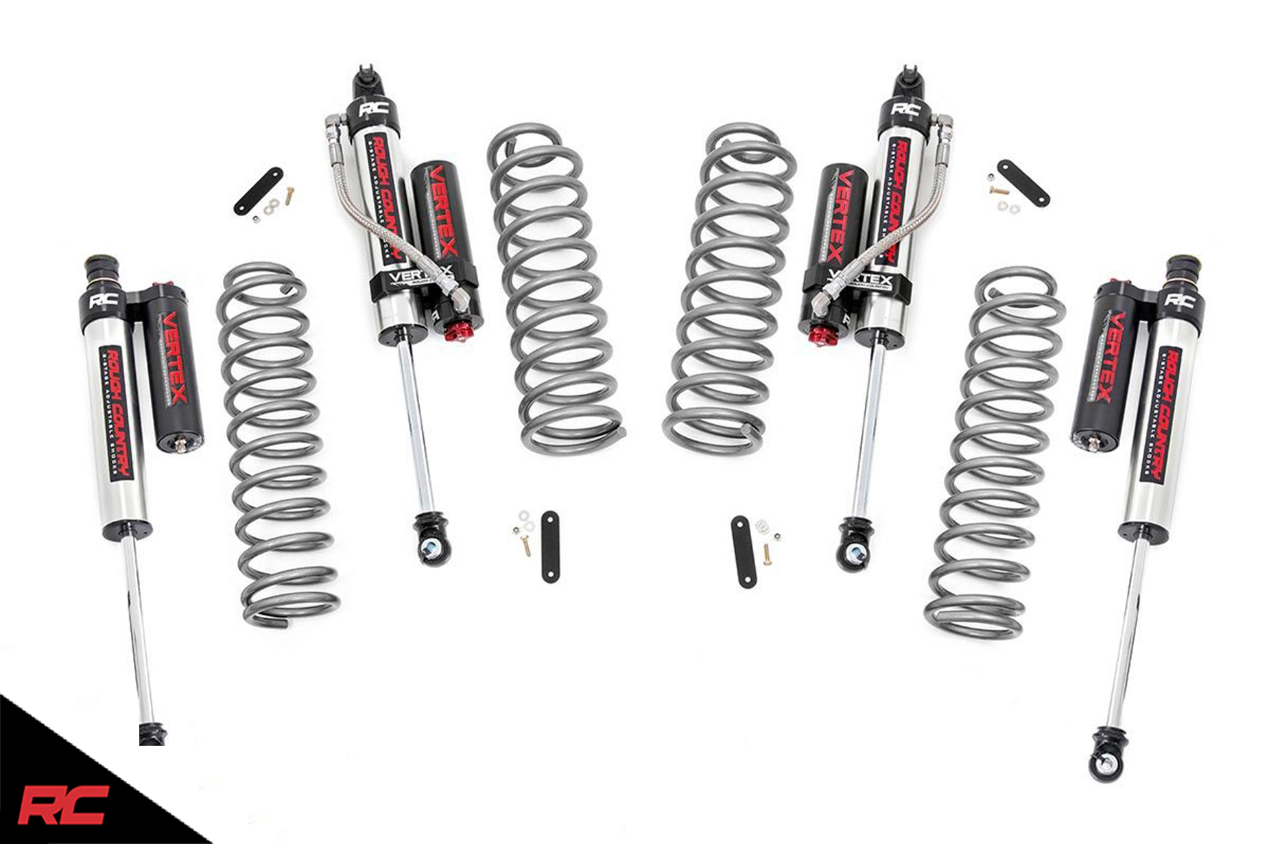 Rough Country 2 5 Lift Kit Compatible W Jeep