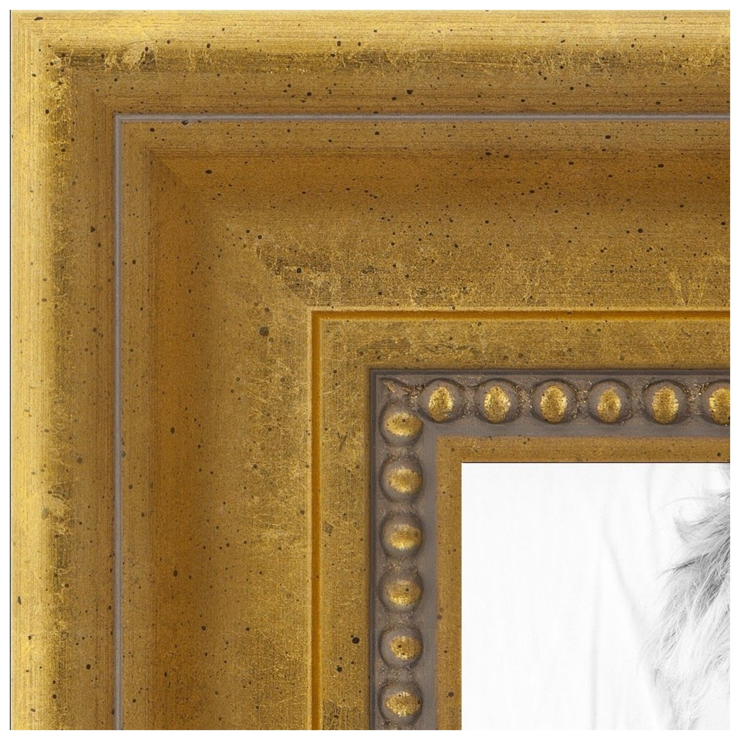 arttoframes 13x19 inch gold picture frame this gold wood poster frame is great for your art or photos comes with 060 plexi glass 2035