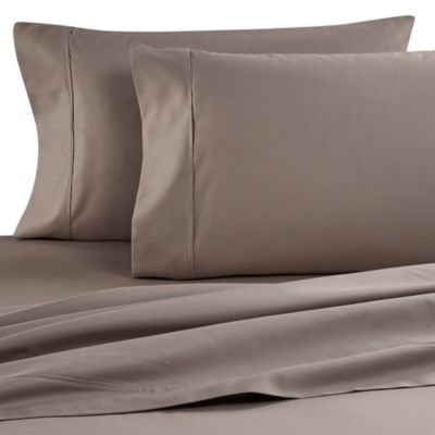 2 pack 100 pima cotton 500 thread count king pillow cases cafe brown