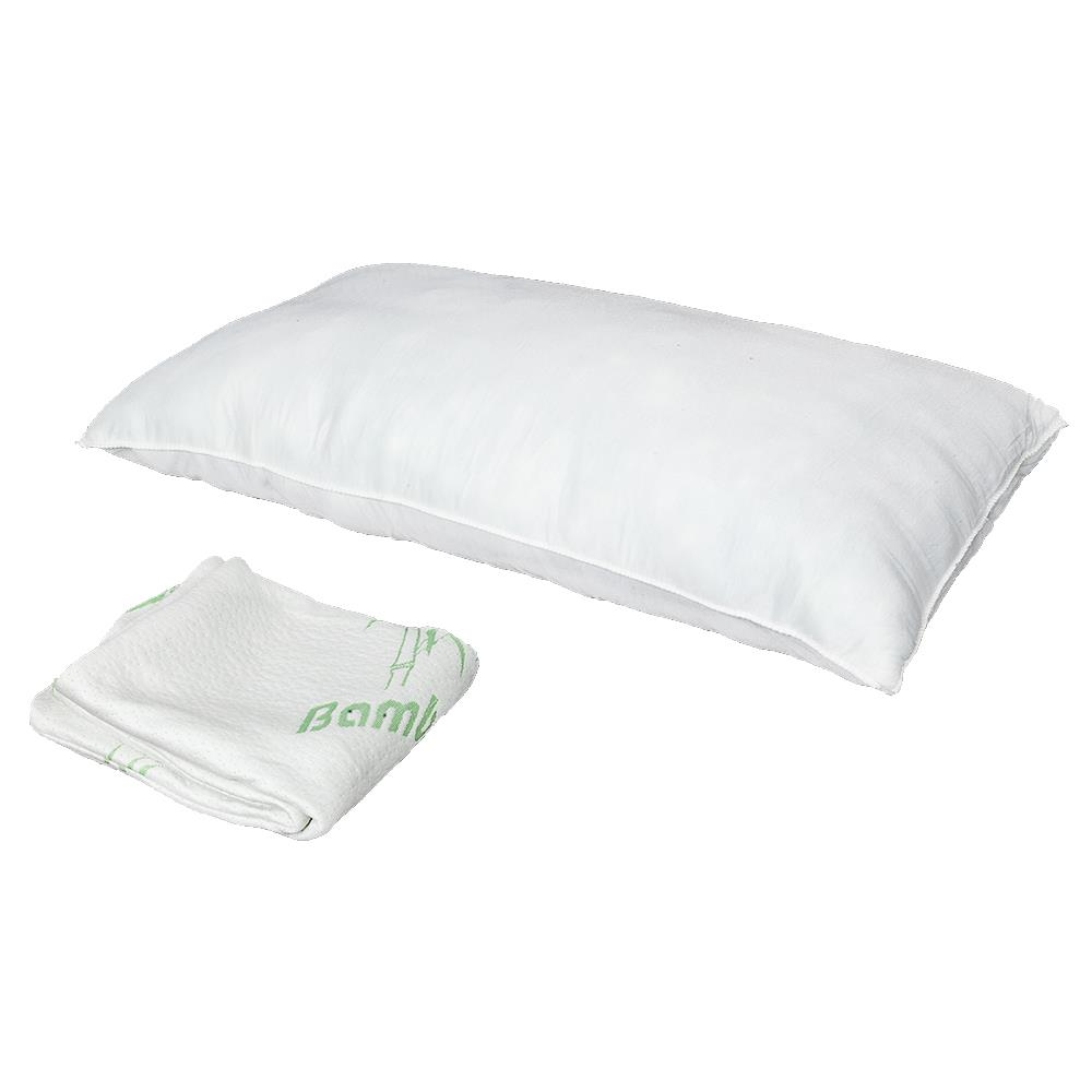 ktaxon soft bamboo memory foam pillow king size improved version hypoallergenic comfortable
