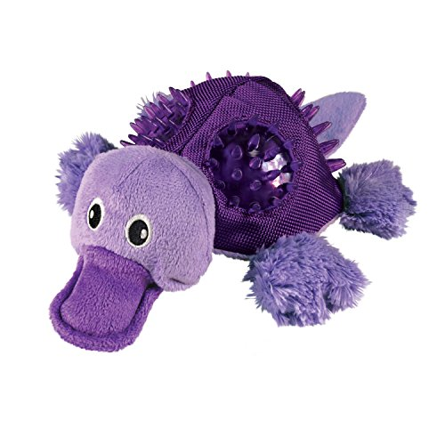 Kong Shells Platypus Dog Toy Small Pack Of 1 Walmart Com
