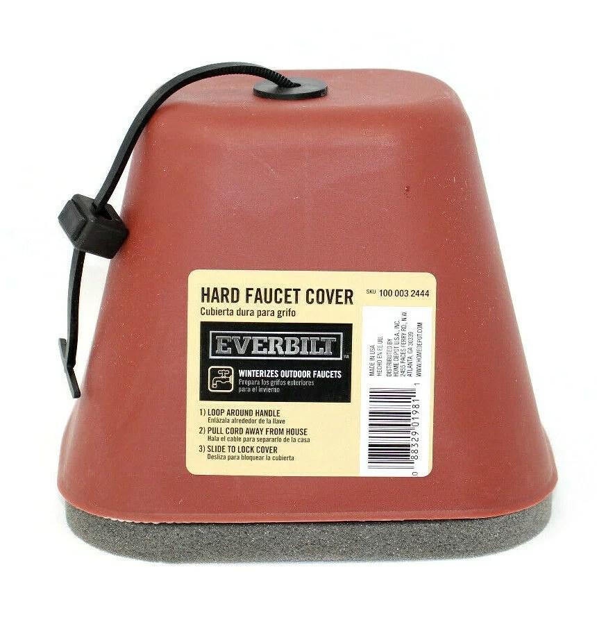 everbilt hard outdoor faucet cover