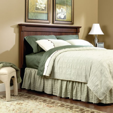 sauder palladia 4 piece bedroom set, cherry - walmart