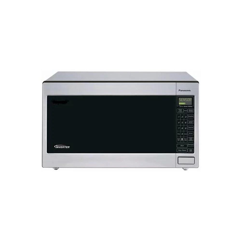 panasonic nn t945sfx rb 1250 watt microwave oven silver refurbished