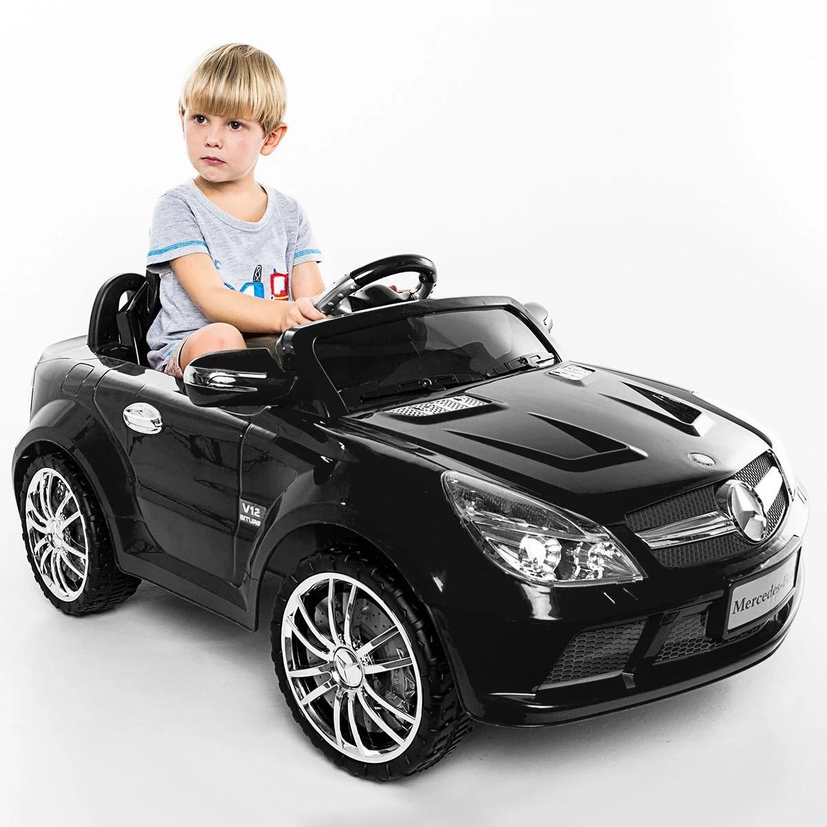 Costway 12v Mercedes Benz Sl65 Electric Kids Ride On Car
