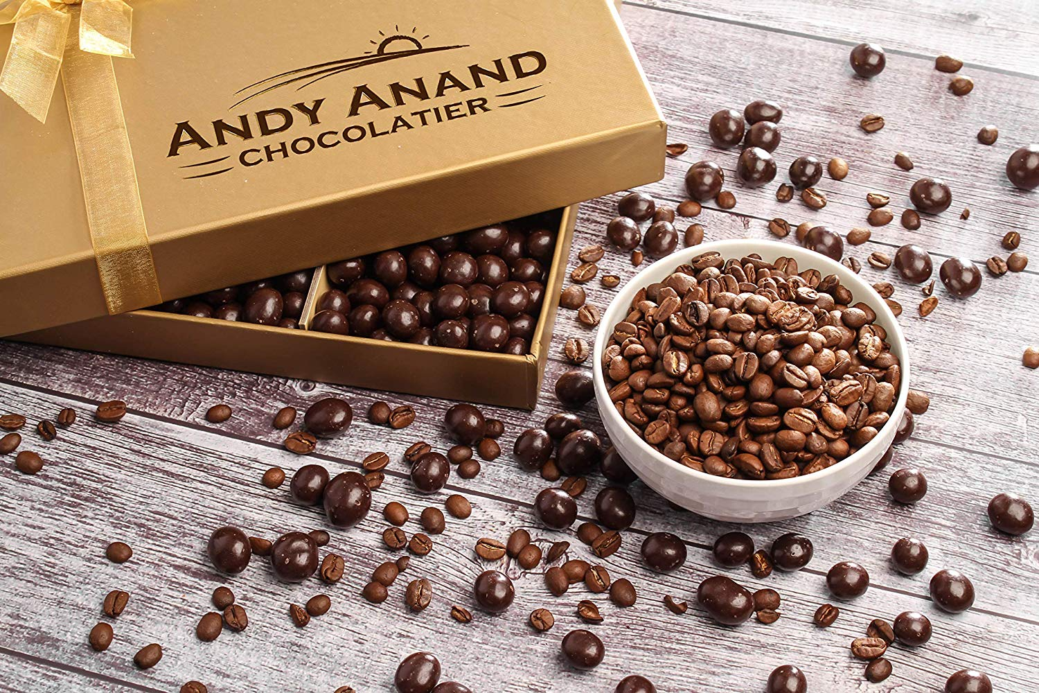 Andy Anand S California Dark Chocolate Covered Espresso