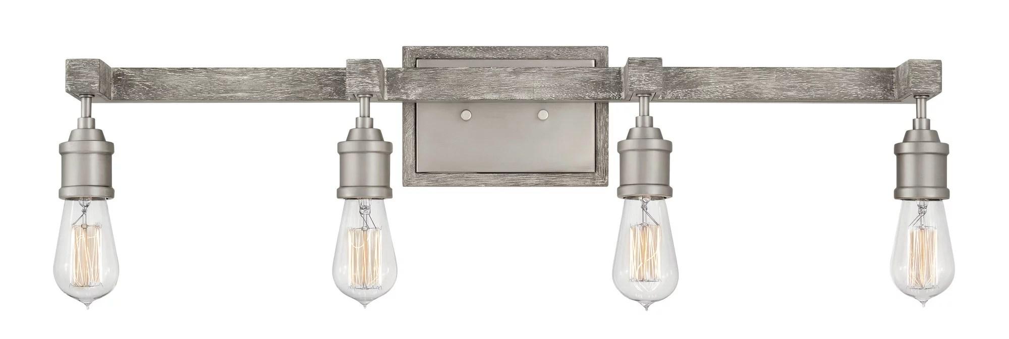 hinkley lighting 5764 4 light 32 wide bathroom vanity light from the denton collection
