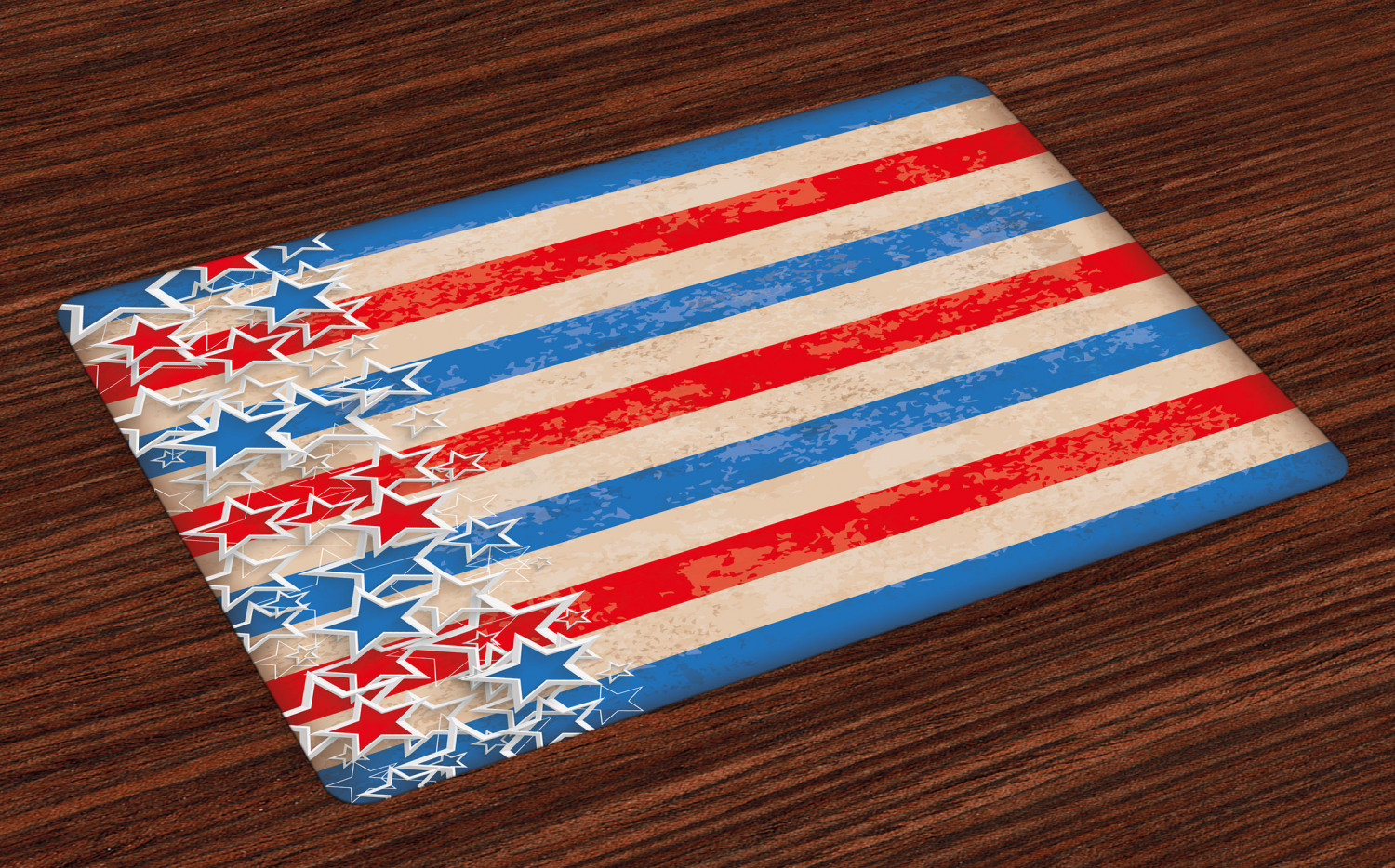 4th of July placemats by Ambesonne