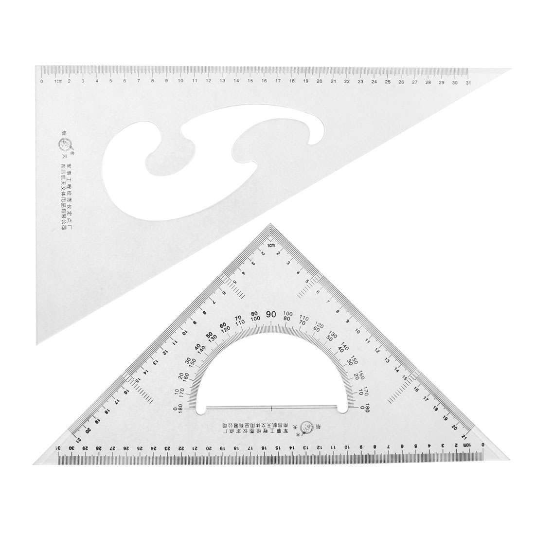 Unique Bargains School Stationery 30 60 45 Degree Triangle