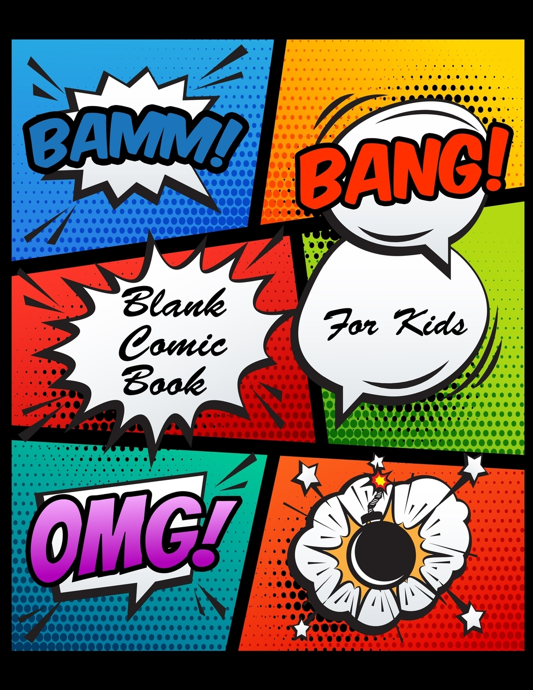Blank Comic Book For Kids Create And Draw Your Own