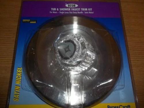 brasscraft satin nickel moen tub shower faucet posi temp trim kit sk0238