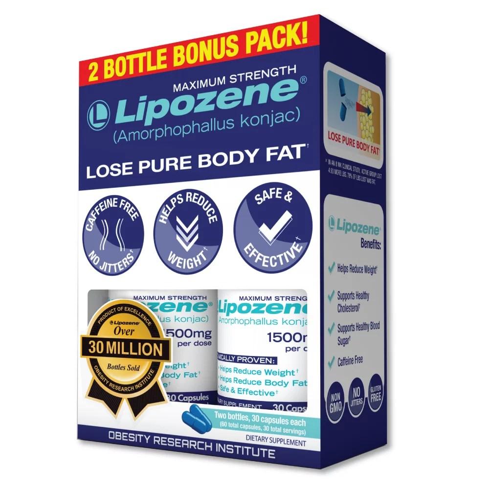 Lipozene Amorphophallus Konjac Maximum Strength Diet Pills ...