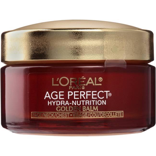 L'Oreal Paris Age Perfect Hydra-Nutrition Golden Balm Face, Neck & Chest Moisturizer, 1.7 oz