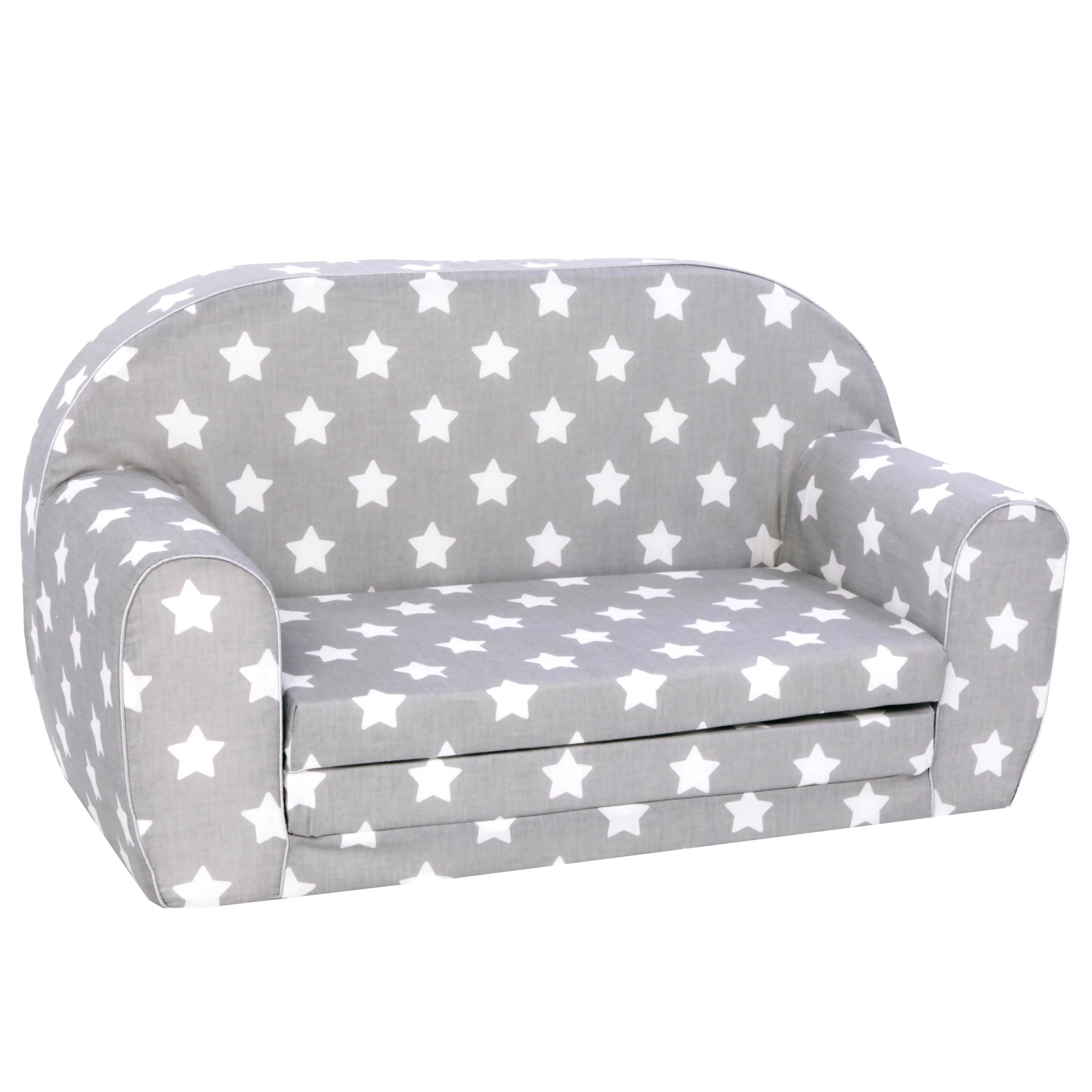 delsit toddler couch kids sofa european made children s 2 in 1 flip open foam double sofa kids folding sofa kids couch comfy fold out lounge