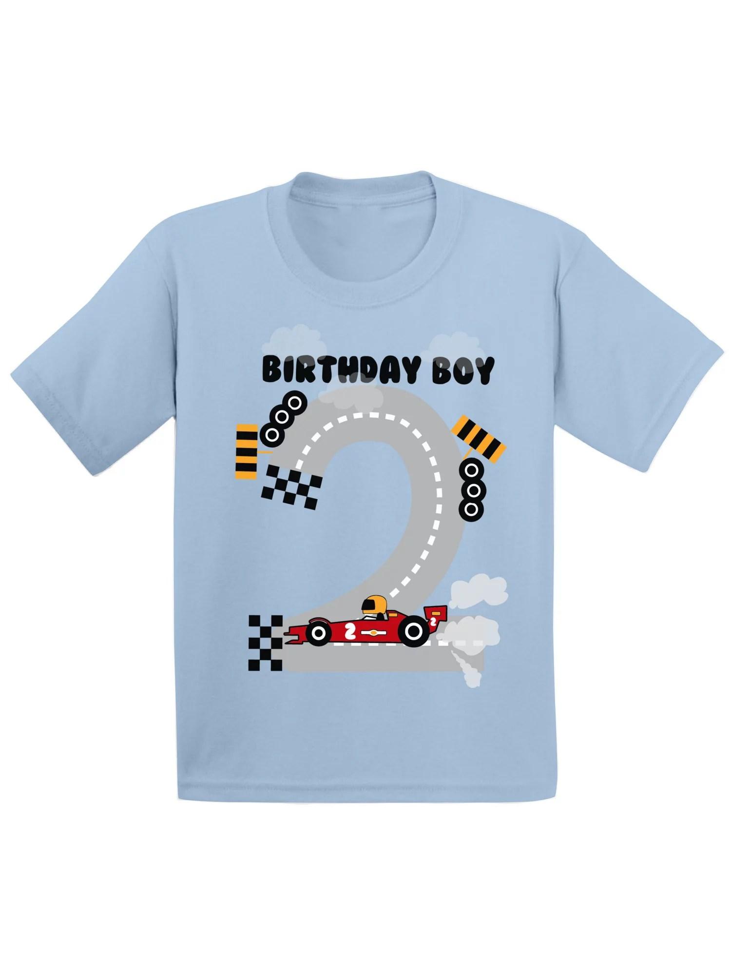 Tops Tees Girls Clothing Second Birthday Boy Tee Toddler Birthday Shirt 2nd Birthday Party Shirt Baby Boy Birthday Outfit 2nd Birthday Shirt Two Birthday Shirt
