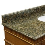 Bellaterra Home 35w In Baltic Brown Granite Backsplash Walmart Com Walmart Com