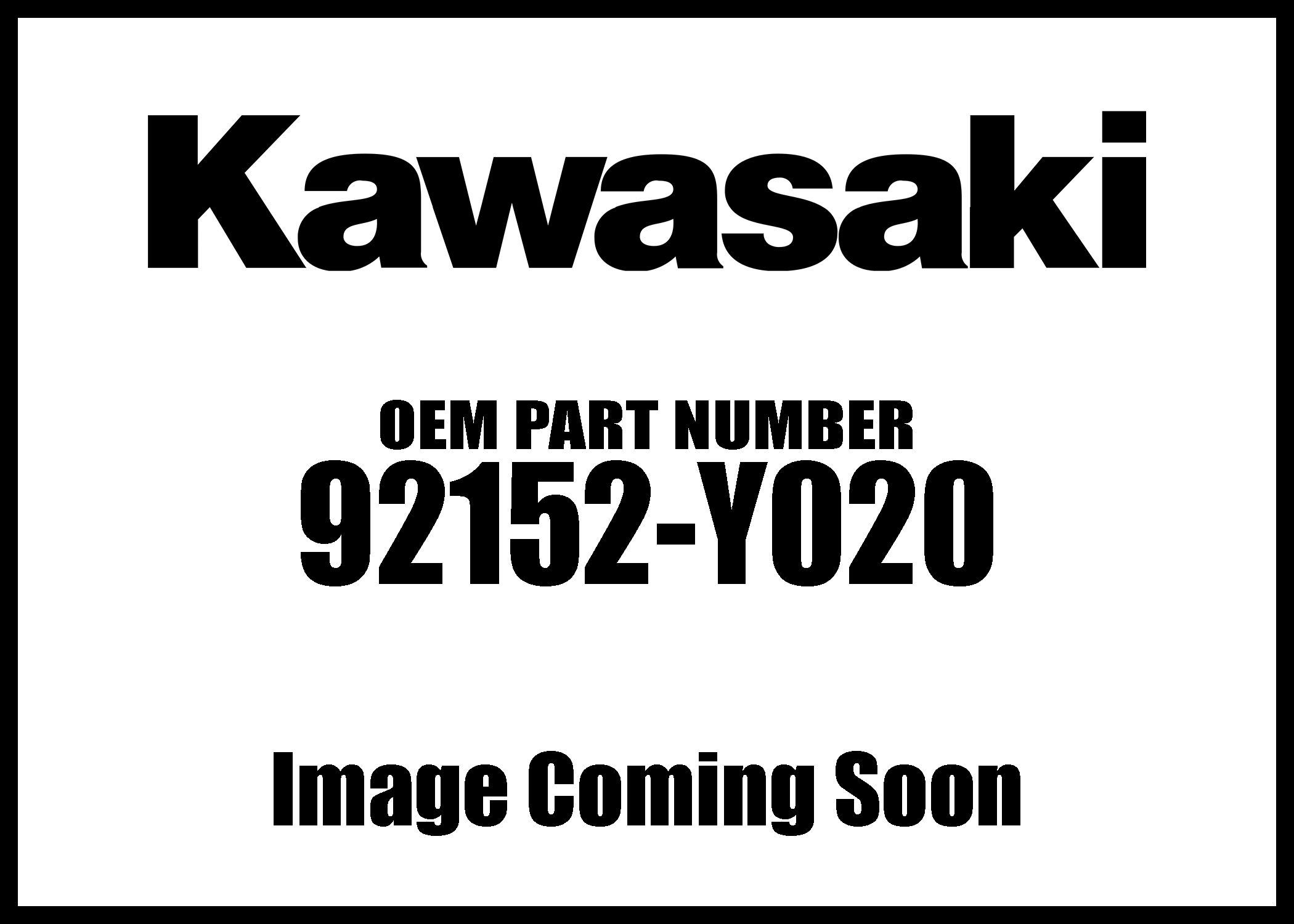Kawasaki Brute Force 300 Collar Y020 New