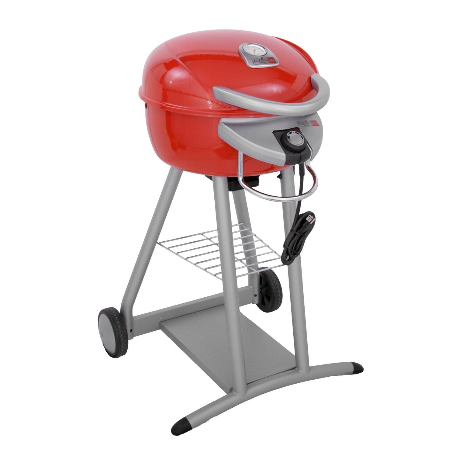 char broil patio bistro infrared 240 square inch electric grill red walmart com