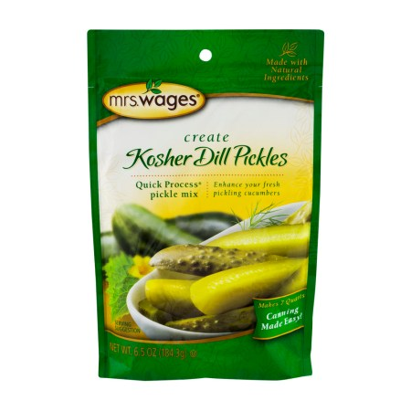 Mrs. Wages Kosher Dill Pickles Quick Process Pickle Mix, 6.5 OZ