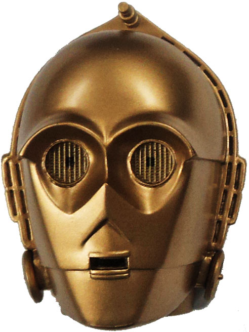 Star Wars Realm Mask Magnets Series 1 C 3po Mask Magnet Walmart Com Walmart Com