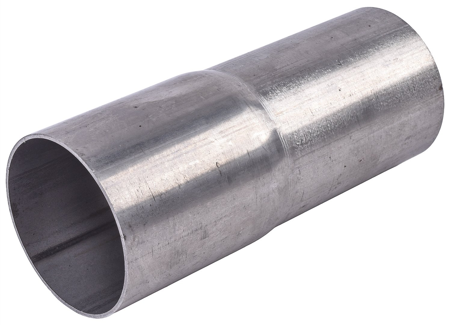 jegs 31981 slip on exhaust pipe adapter 2 1 4 in to 2 1 2 in stainless steel walmart com