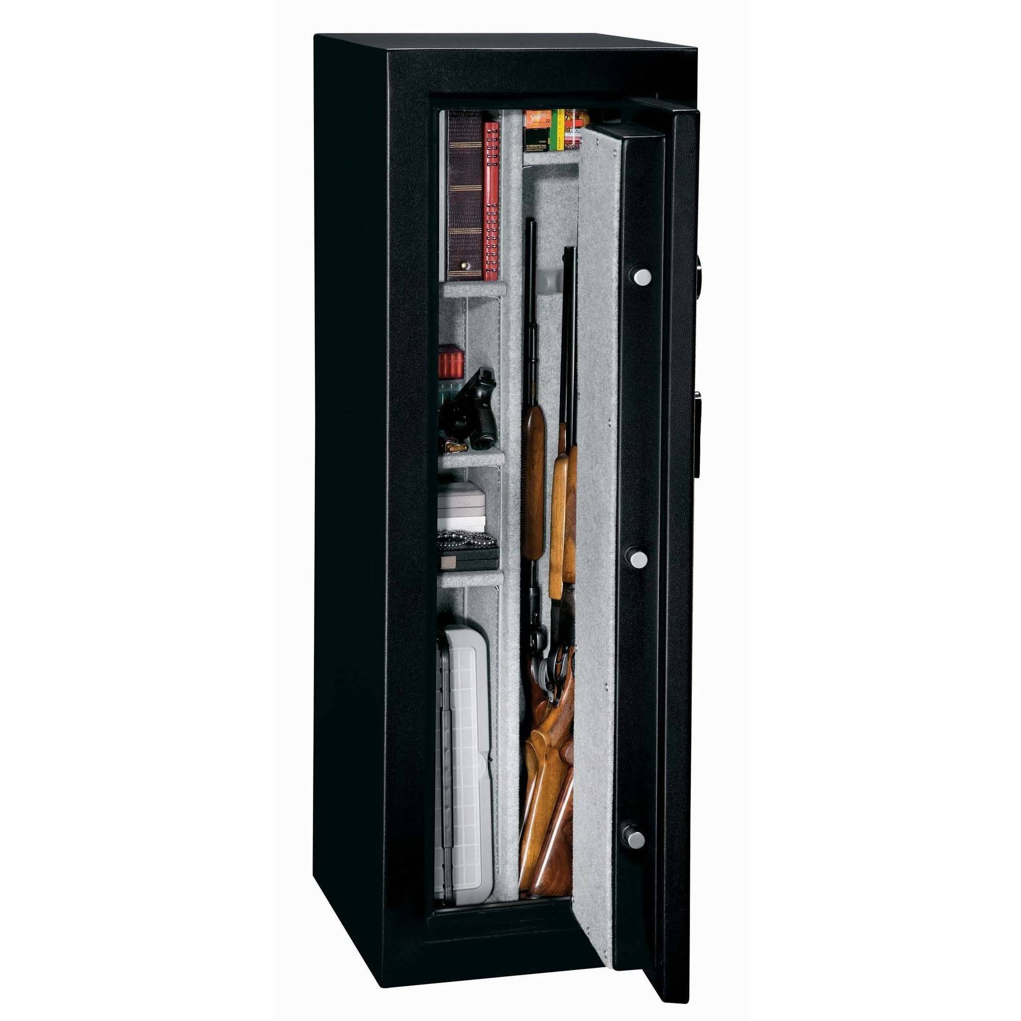 Stack On 10 Gun Sentinel Fire Resistant Safe With