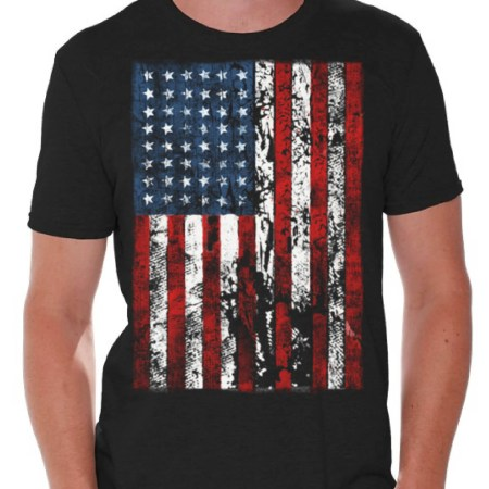 Awkward Styles American Flag Distressed T Shirts for Men USA Shirt USA Flag Mens Tshirt Tops for Independence Day 4th of July Shirts for Men Patriotic Outfit Fourth of July Gifts