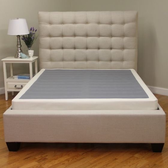 Modern Sleep Instant Foundation Low Profile 4 Inch Box Spring Replacement Multiple Sizes