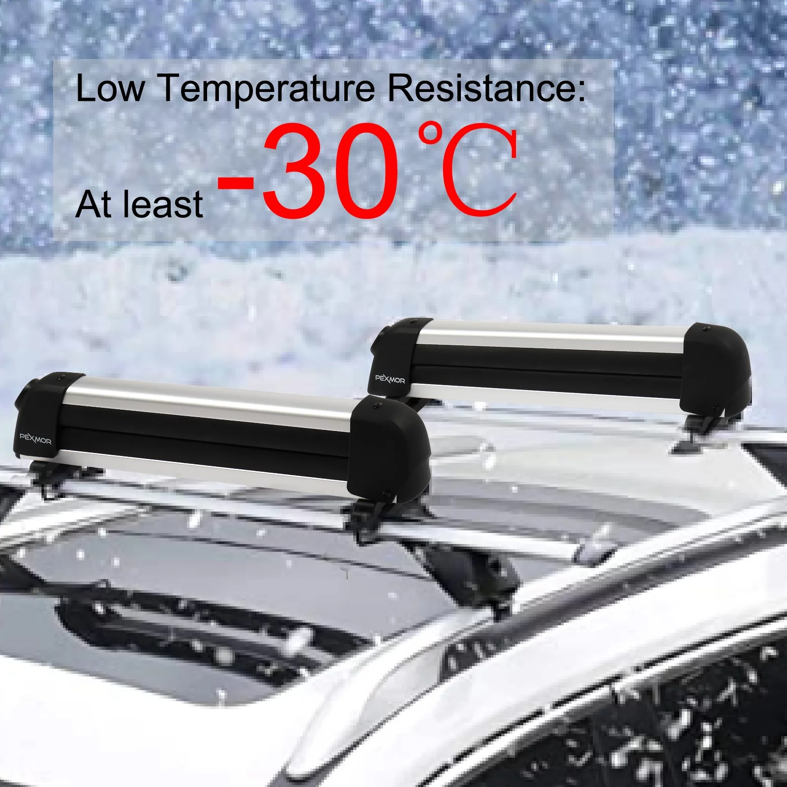 ubesgoo snowboard roof rack car rack carrier ski roof racks snowboard racks ski board roof carrier fit most vehicles equipped crossbar