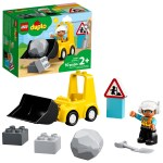 Lego Duplo Construction Bulldozer 10930 Toddler Building Toy For Kids Aged 2 And Up 10 Pieces Walmart Com Walmart Com