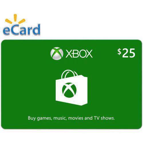 Xbox Digital Gift Card 25 Microsoft