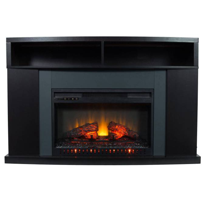 Tv Stand With Electric Fireplace Real Flame Hudson