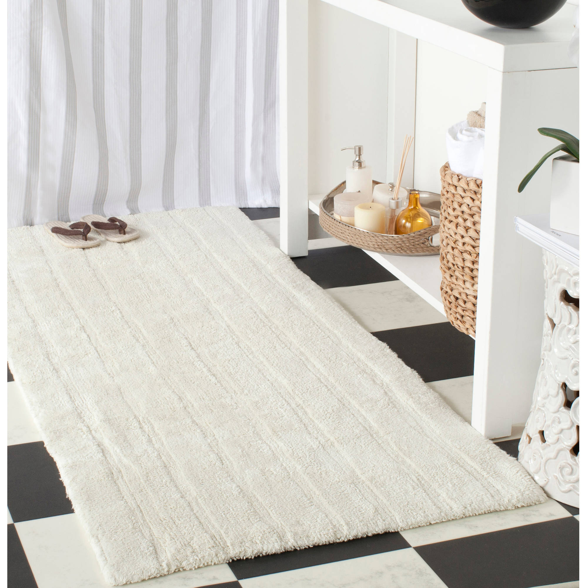 safavieh plush master cotton bath rugs 2pk