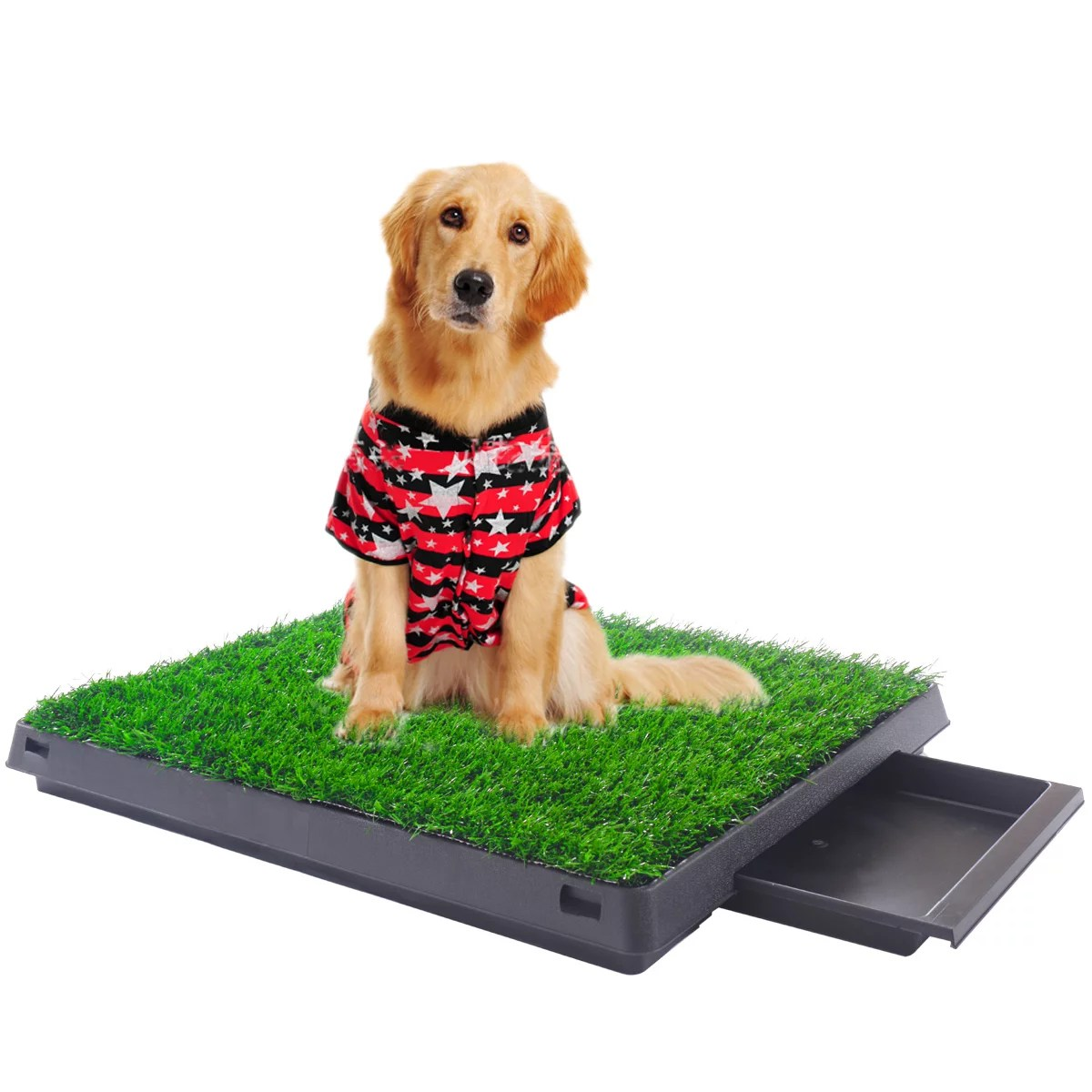 topcobe artificial grass dog potty grass puppy potty trainer 25 x20 fake grass turf for dogs potty training area patio lawn decoration