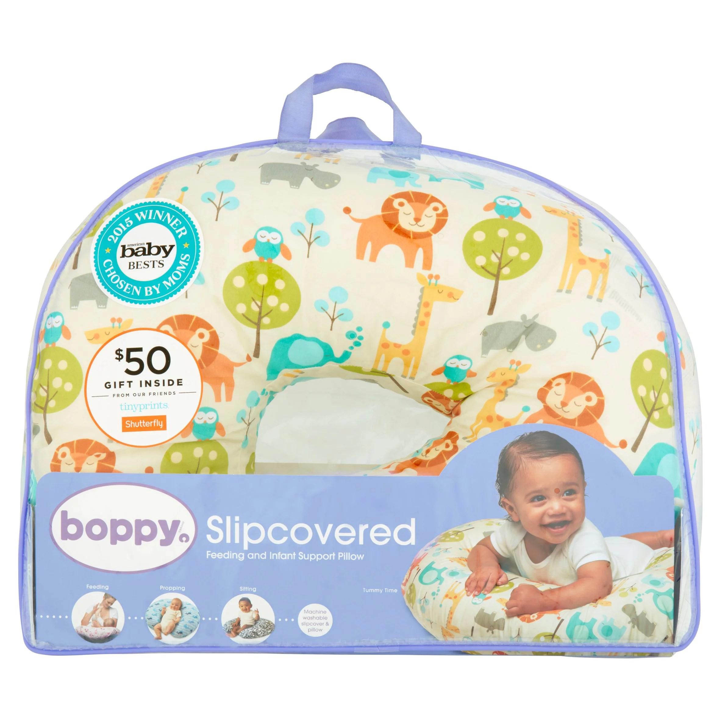 original boppy nursing pillow and positioner peaceful jungle walmart com
