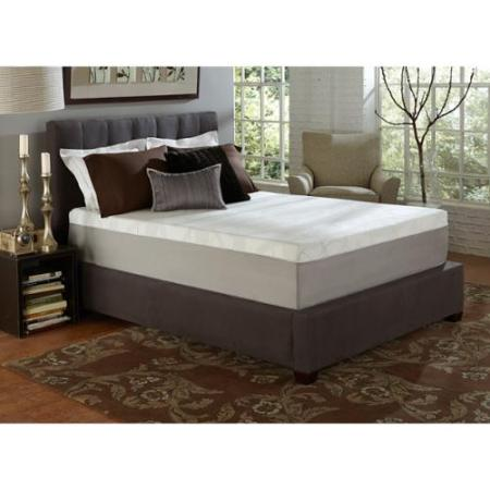 Slumber Solutions Choose Your Comfort 14 Inch King Size Memory Foam Mattress Firm