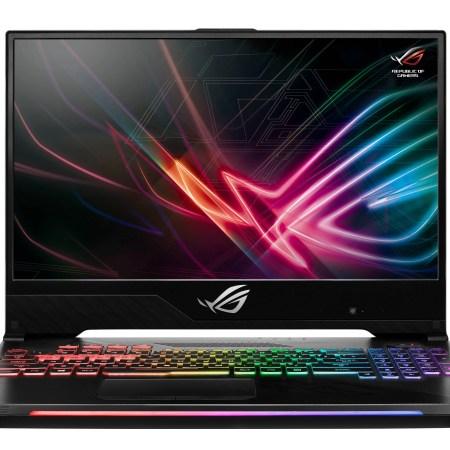 "Asus ROG Strix Hero II Gaming Laptop, 15.6"" 144Hz IPS-Type Slim Bezel, NVIDIA GeForce GTX 1060 6GB, Intel Core i7-8750H, 256GB PCIe SSD, 8GB RAM, GL504GM-WH71 Free COD4 Black Ops with Purchase"