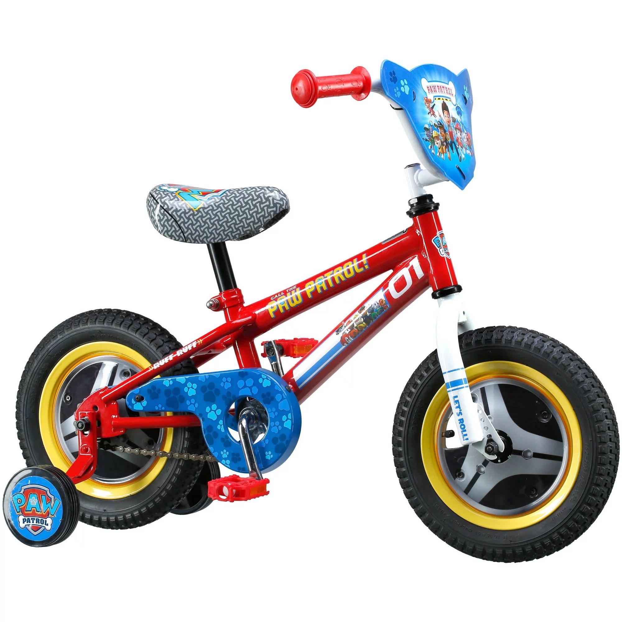 Paw Patrol Kids Small Bike Girls Boys Toddler Bicycle W