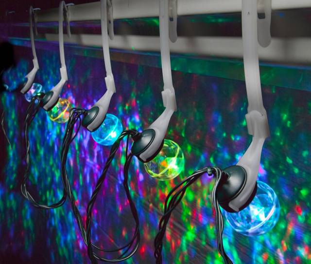 Gemmy Lightshow Christmas Lights Ct Led Projection Lights With Clips Set Of  Red Green And Blue Walmart Com