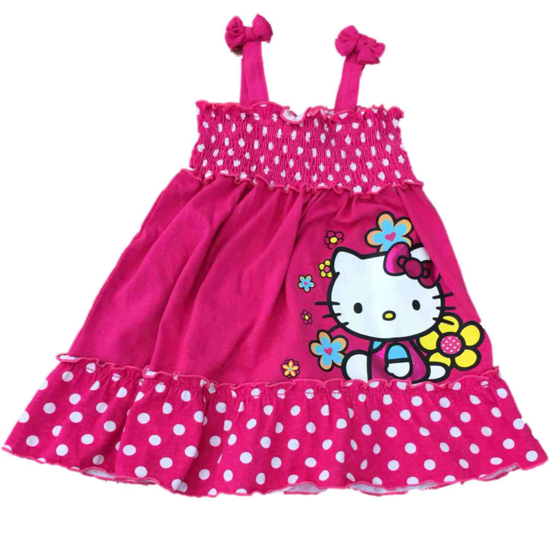 Infant Toddler Girls Hello Kitty Pink Amp White Polka Dot
