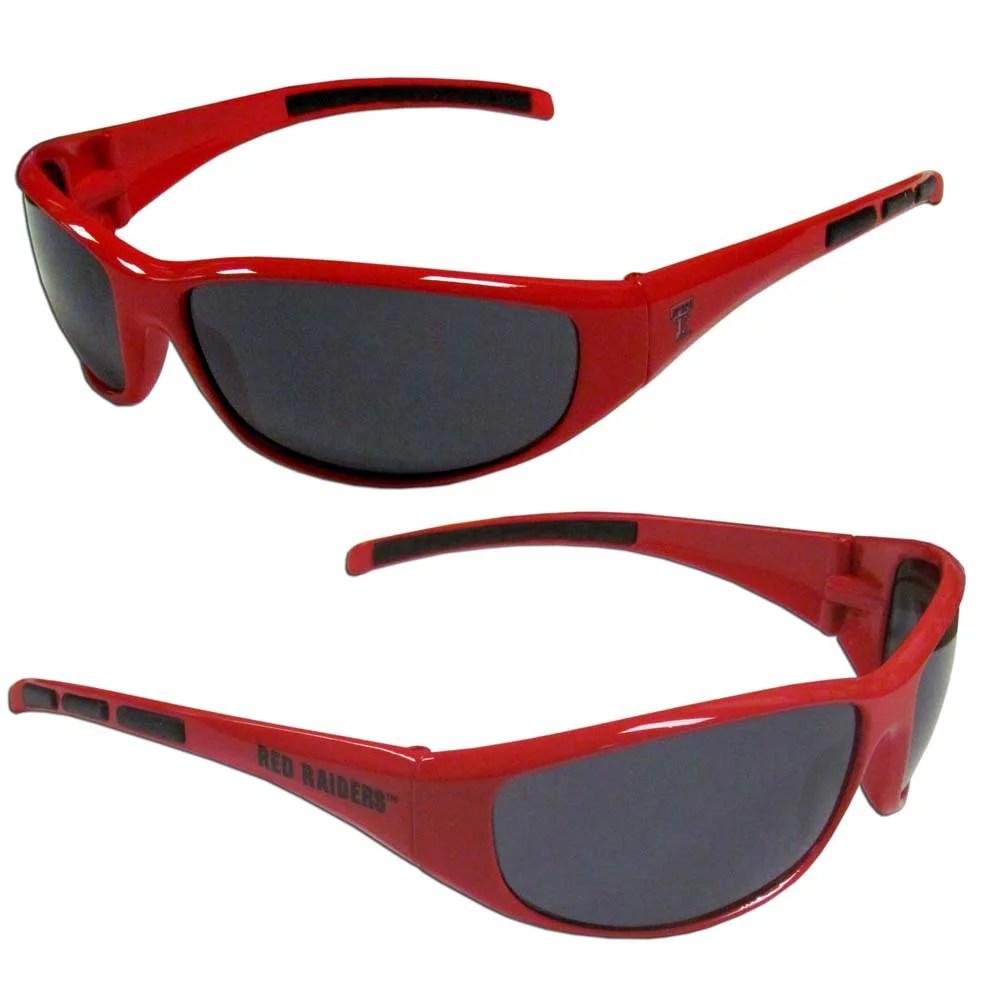 Texas Tech Wrap Sunglasses (F)