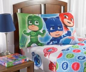 Pj Masks Sheet Set Kids Bedding 3 Piece Twin Size Walmart Com Walmart Com