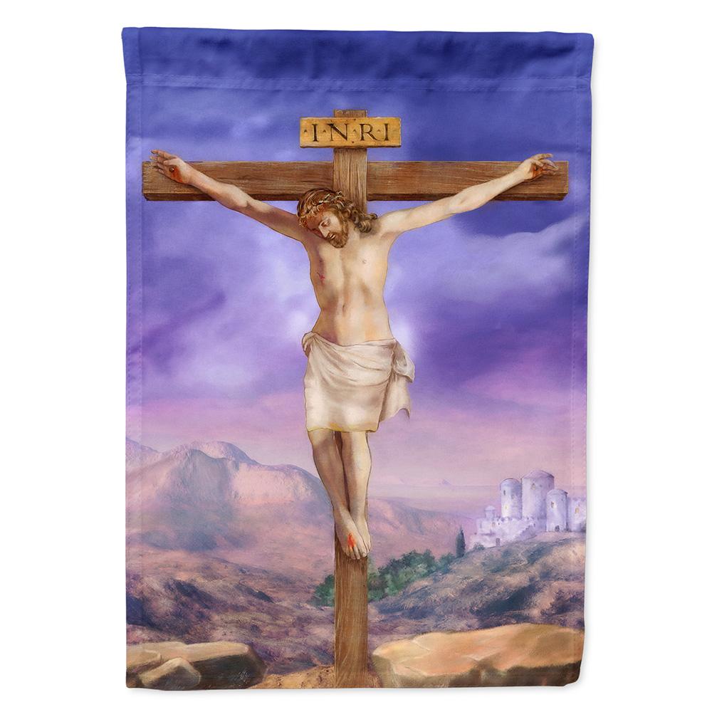 Easter Jesus Crucifixion Garden Flag Walmart Com Walmart Com