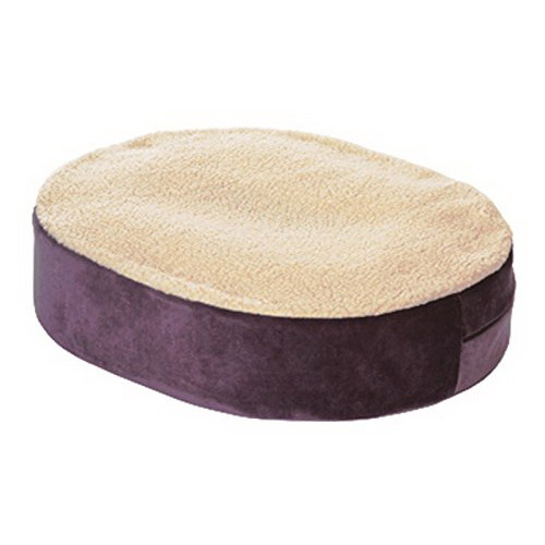 essential medical supply donut cushion with gel insert and fleece cover 18 x 16 x 4