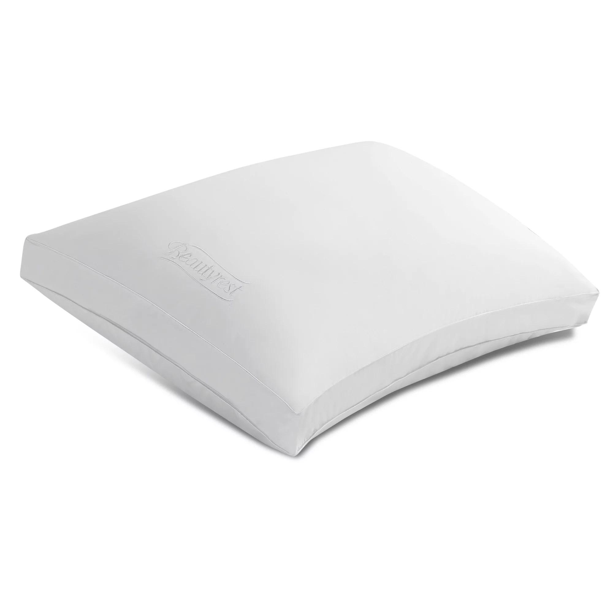beautyrest black pillows 2 pack standard queen